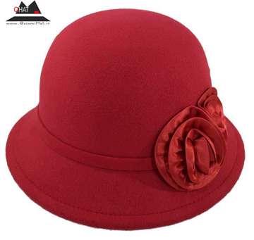 فروشگاه کلاه قاسمی-کلاه شاپو زنانه قرمز